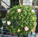 round shape artificial topiary