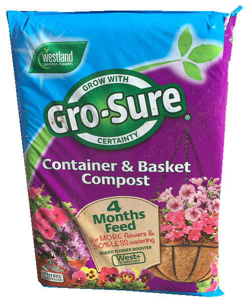 50ltr tub and basket compost
