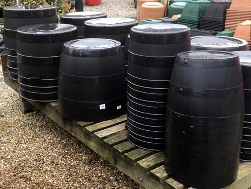 Blacksmith garden tubs