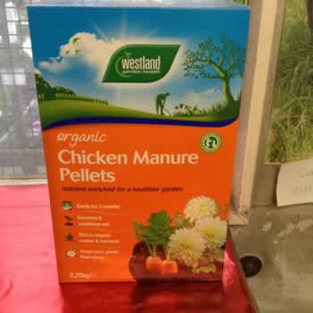 Organic Chicken Manure Pellets