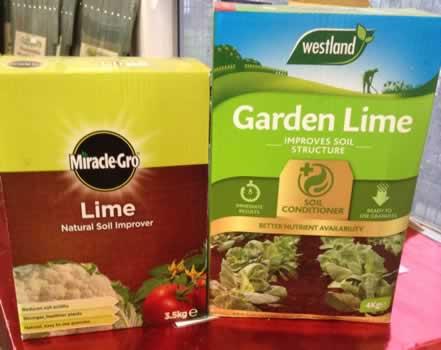 Garden Lime powder