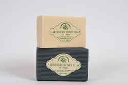 gardeners honey soap bar