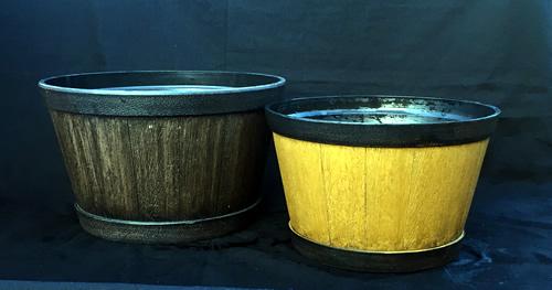 oban-whiskey-barrels for garden