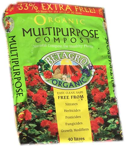 organic compost 40ltr