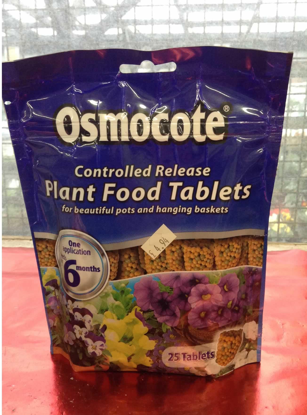 Osmocote Plant Food Tablets