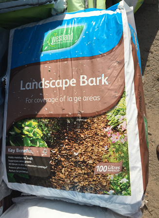 chip bark 100 litres